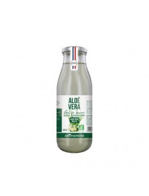 Aloe vera Bio - Gel à boire goût Citron vert 500 ml - Aromandise