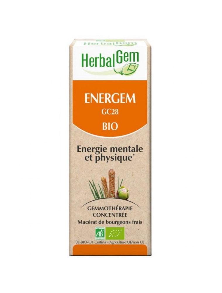 EnerGEM GC28 Bio - Energie mentale et physique 50 ml - Herbalgem