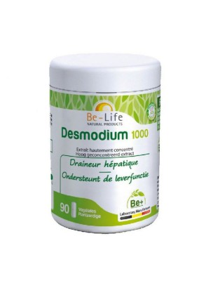 Desmodium 1000 - Draineur hépatique 90 gélules - Be-Life