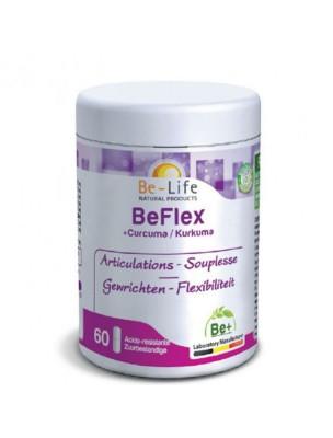 BeFlex Curcuma - Articulations et Souplesse 60 gélules - Be-Life
