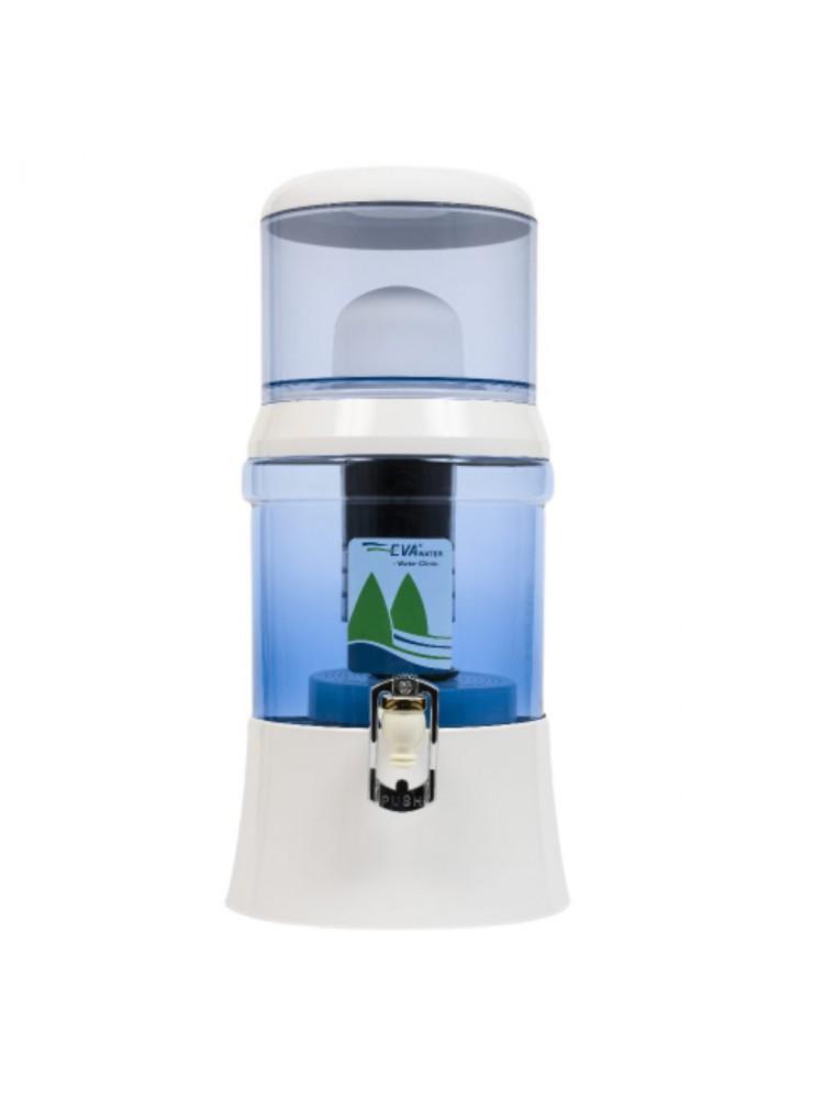 Fontaine à Eau Eva en verre 700 BEP Avec système magnétique 7 Litres - Fontaine Eva