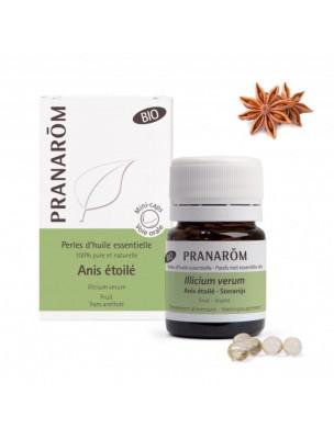 Anis étoilé Bio - Perles d'huiles essentielles - Pranarôm