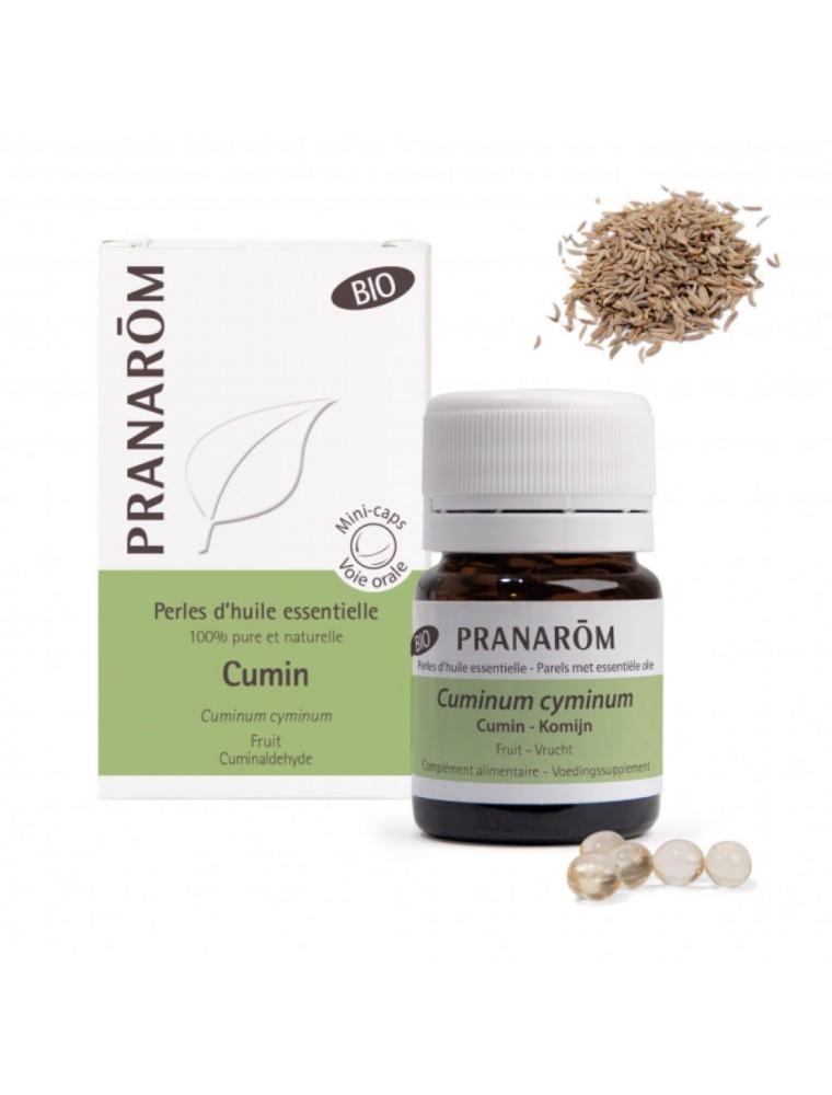 Cumin Bio - Perles d'huiles essentielles - Pranarôm