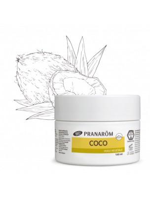 Coco Bio - Huile végétale de Coco nucifera 100 ml - Pranarôm