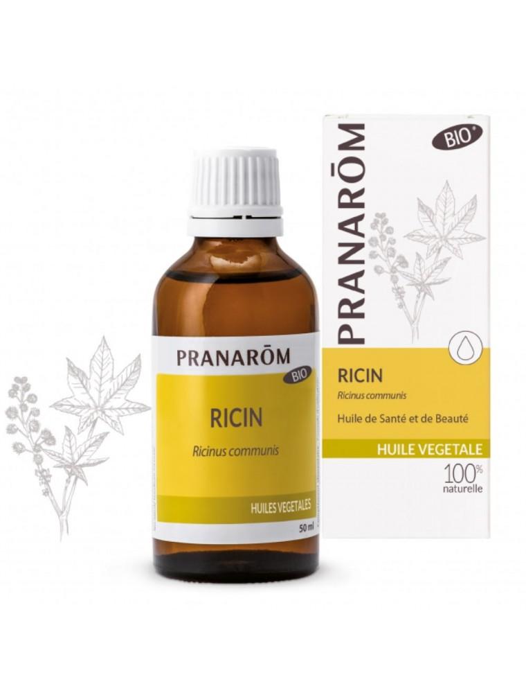 Ricin Bio - Huile végétale de Ricinus communis 50 ml - Pranarôm