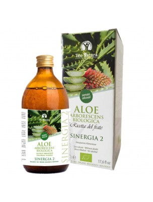 Aloé arborescens Bio sans alcool - 500 ml - Teo Natura