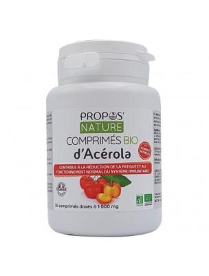 Acérola Bio - Fatigue et Immunité 30 comprimés - Propos Nature