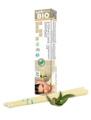 Bougies auriculaires - Organic Eucalyptus 2 pièces - Naturhelix