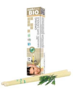 Bougies auriculaires - Organic Arbre à Thé 2 pièces - Naturhelix
