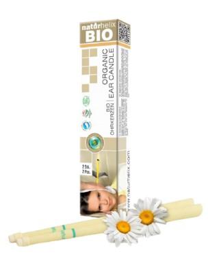 Bougies auriculaires - Organic Camomille 2 pièces - Naturhelix