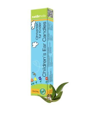Bougies auriculaires Enfants - Eucalyptus 2 pièces - Naturhelix