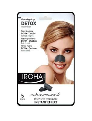 Patchs Purifiants Nez en Tissu - Detox 5 patchs - Iroha Nature