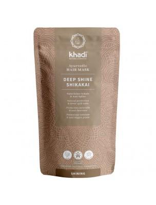 Deep Shine Shikakai Bio - Masque capillaire ayurvédique 50 grammes - Khadi