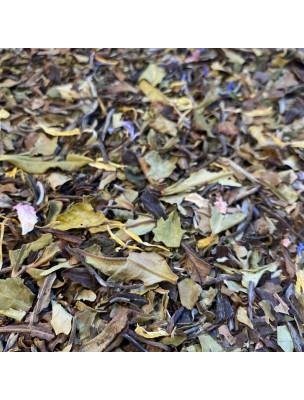 Thé Vanille-Pétales-de-fleurs-Safran Bio - Thé blanc ardennais 30 grammes - Le Safran