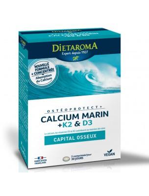 OstéoProtect Plus - Ossature 60 comprimés - Dietaroma