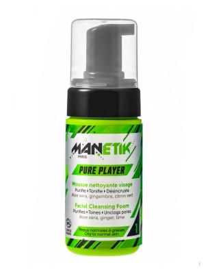 Pure Player Bio - Mousse nettoyante 100 ml - Manetik