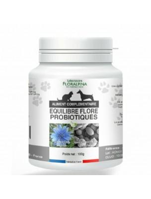 Equilibre Flore - Probiotiques Chiens et Chats 100g - Floralpina
