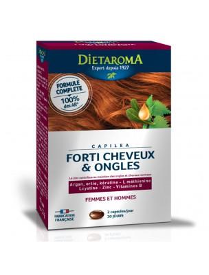 Capiléa Forti Cheveux et Ongles - Vitamines 60 capsules - Dietaroma