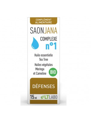Saonjana Complexe n°1 Bio - Défenses 15 ml - LT Labo