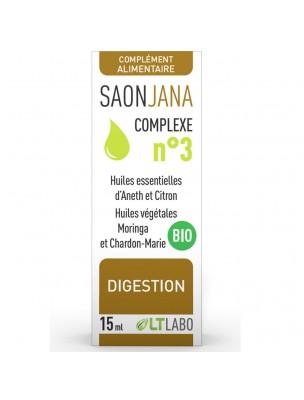 Saonjana Complexe n°3 Bio - Digestion 15 ml - LT Labo