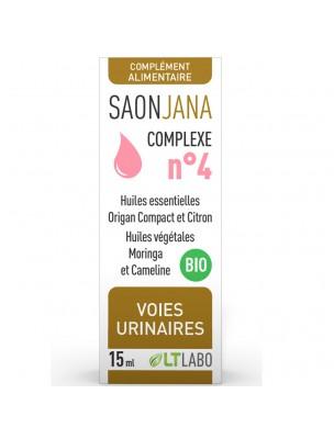 Saonjana Complexe n°4 Bio - Voies urinaires 15 ml - LT Labo