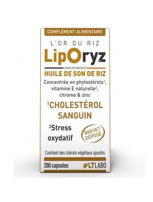 Liporyz - Cholestérol et Stress oxydatif 200 capsules - LT Labo
