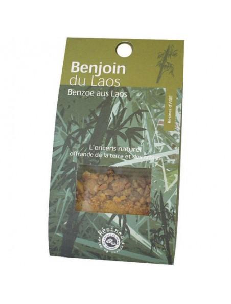 Benjoin du Laos - Résine aromatique 20 g - Les Encens du Monde