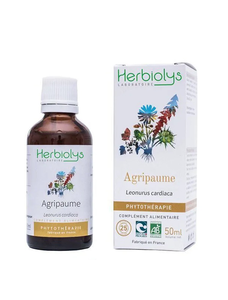 Agripaume - Cœur et Relaxation Teinture-mère Leonurus cardiaca 50 ml - Herbiolys