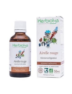 Airelle rouge Macérât de jeune pousse Bio - Femme et Digestion 50 ml - Herbiolys