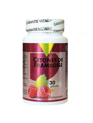 Cétones de Framboise - Minceur 30 gélules végétales - Vit'all+