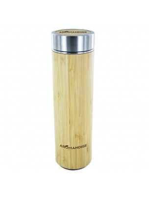 Gourde Infuseur en Bambou 450 ml - Aromandise