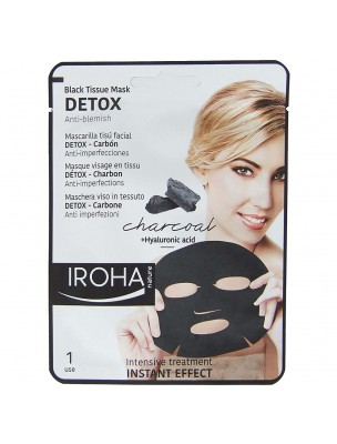 Masque Visage en Tissu - Detox 1 soin - Iroha Nature