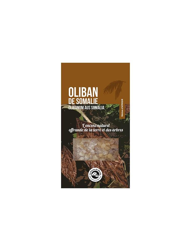 Oliban de Somalie - Résine aromatique 40 g - Les Encens du Monde