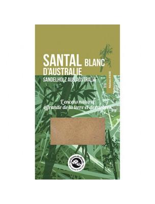 Santal blanc d'Australie - Résine aromatique 25 g - Les Encens du Monde