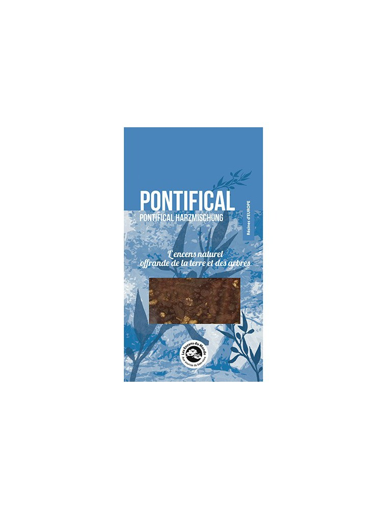 Pontifical - Résines aromatiques 25 g - Les Encens du Monde