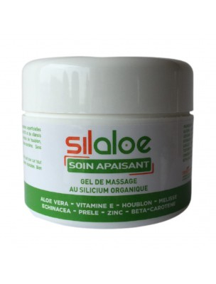 Silaloe - Gel de massage au Silicium organique et à l'Aloe vera 100 ml - Nutrition Concept