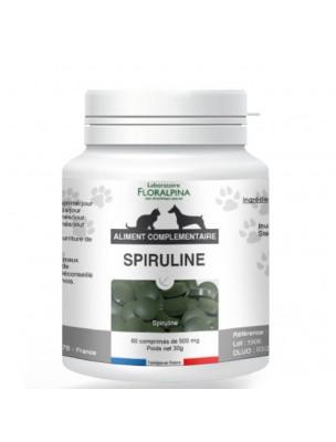 Spiruline - Défenses naturelles des Chiens et Chats 60 comprimés - Floralpina