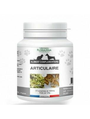 Articulaire - Articulations et Souplesse des Chiens et Chats 60 comprimés - Floralpina
