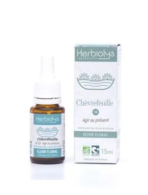 Honeysuckle Chèvrefeuille n°16 - Positivité Bio aux fleurs de Bach 15 ml - Herbiolys