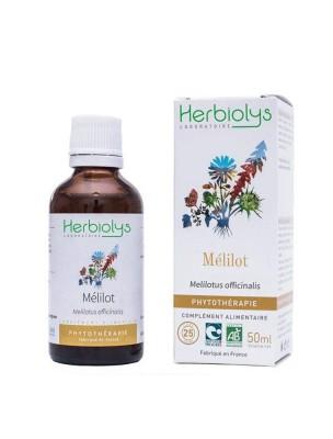 Mélilot Bio - Circulation et Cycle féminin Teinture-mère Melilotus officinalis 50 ml - Herbiolys
