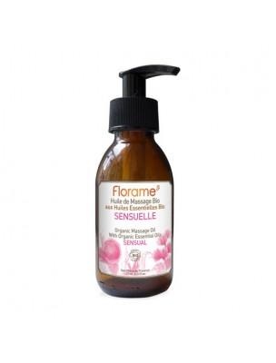 Sensuelle - Huile de massage Bio 120 ml - Florame