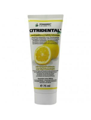 Citridental - Dentifrice Crème 75ml - Citridermal