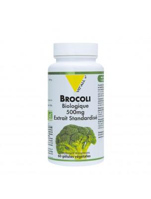 Brocoli 500 mg Bio - Antioxydant 60 gélules végétales - Vit'all+