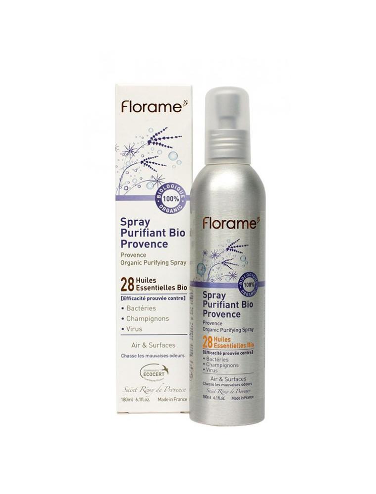 Spray Purifiant Provence Bio - aux 28 huiles essentielles 180 ml - Florame