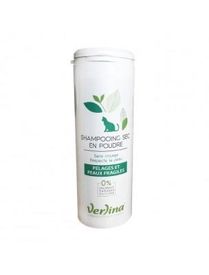 Shampooing Sec Pelages et Peaux Fragiles - Chats 150 ml - Verlina