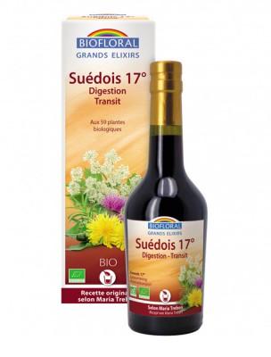 Élixir du Suédois Bio 17°- Dépuratif 375 ml - Biofloral
