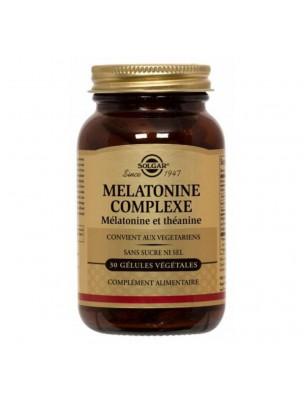 Mélatonine Complexe - Sommeil 30 gélules végétales - Solgar