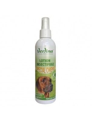 Lotion Insectifuge Chiens - Parasites externes 250 ml - Verlina