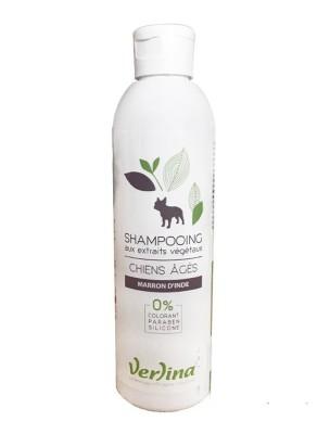 Shampooing Poils Chiens Âgés - Chiens 250 ml - Verlina