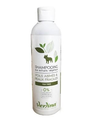 Shampooing Poils Abîmés et Peaux Fragiles - Chiens 250 ml - Verlina